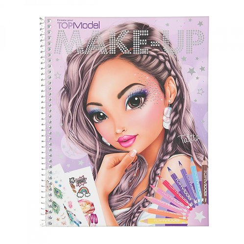 TOPModel Album à colorier Make-up