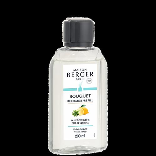 Zeste de Verveine - Recharge Bouquet Parfumée Maison Berger 200 ml