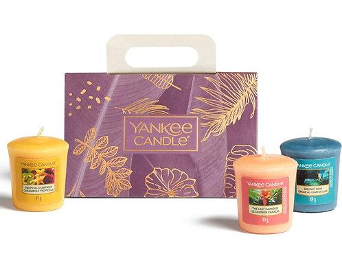Coffret 3 votives - The Last Paradise - Yankee Candle