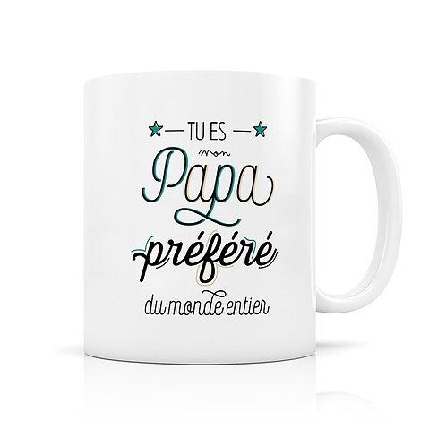 Mug - Papa Préféré - Créa-Bisontine