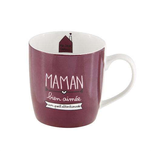 Mug LEMAN (+ boite) Maman bien aimée - DLP