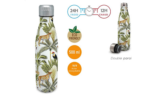 Bouteille isotherme 500 ml - Tropicale