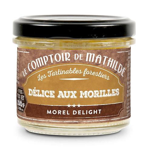 Tartinable - Délice aux morilles - Le Comptoir de Mathilde