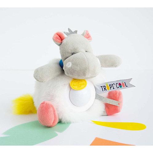 Doudou Veilleuse - Hippo - Doudou et compagnie