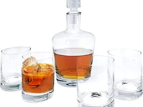 Coffret Whisky - Carafe & 4 Verres