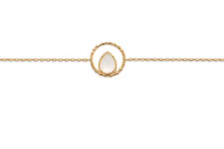 Bracelet - Ciselé Pierre de Lune