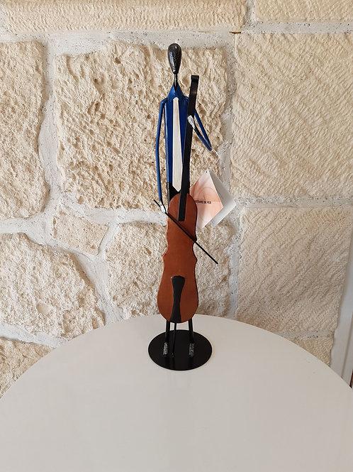 Sculpture Musicien - Violoncelliste