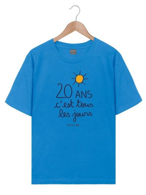 Tee-Shirt Homme - 20 ans