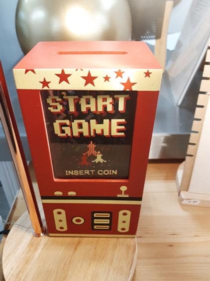 Tirelire START GAME Arcade