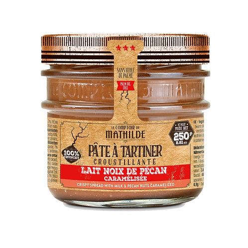 Lait noix de pécan caramélisée - Pâte à Tartiner - Comptoir de Mathilde