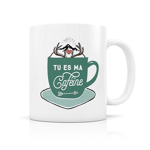 Mug - Tu es ma caféine - Créa-Bisontine