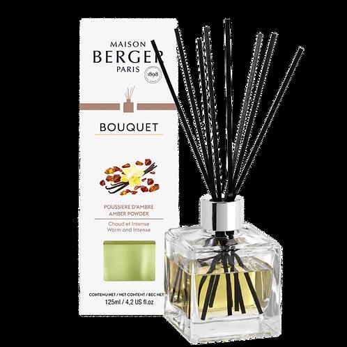Poussière d'Ambre - Bouquet Parfumée Maison Berger 125 ml