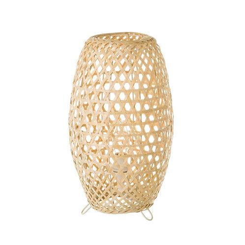 Lampe bambou / métal
