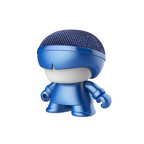 Enceinte Bluetooth Nomade - Mini Xoopar Boy Metal Bleu