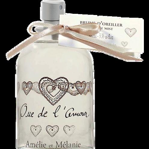 QUE DE L'AMOUR - Brume d'Oreiller 100 ml - Amélie & Mélanie - Lothantique