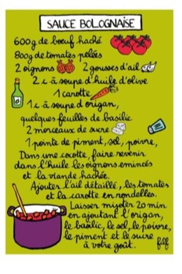 Magnet - Sauce Bolognaise