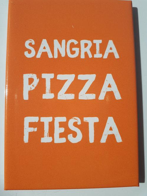 Magnet - Sangria Pizza Fiesta