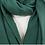 Thumbnail: Echarpe laine - vert foncé
