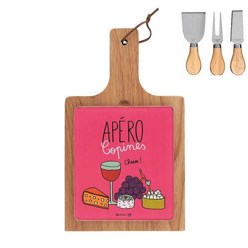 Plateau à fromage (+ 3 couverts) ELAN Apéro des copines - DLP