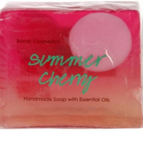 Summer Cherry - Savon Fait Main aux huiles essentielles