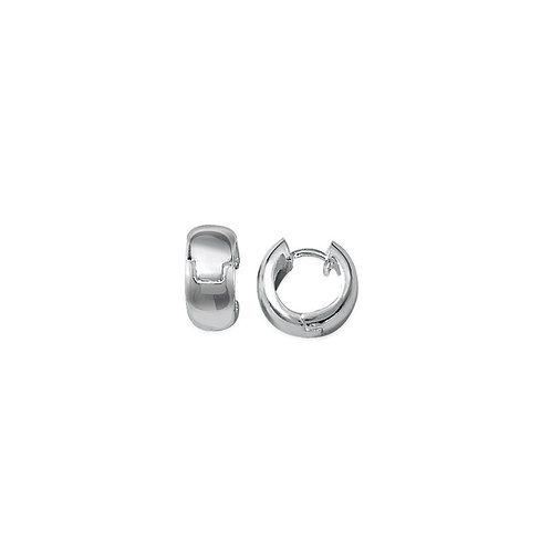 Boucles d'Oreilles ARGENT 925 - Créoles D.16 mm