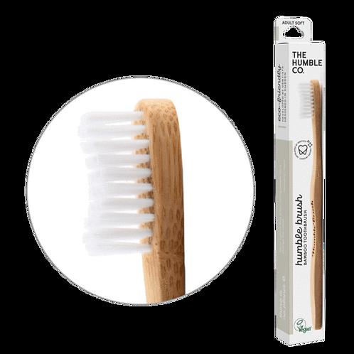 Brosse à dent Bambou - Blanche