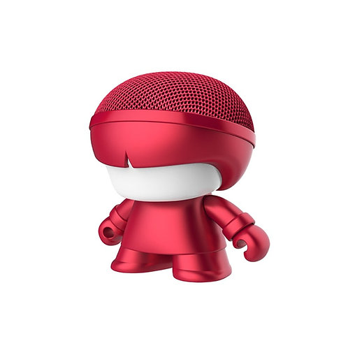 Enceinte Bluetooth Nomade - Mini Xoopar Boy Metal Rouge