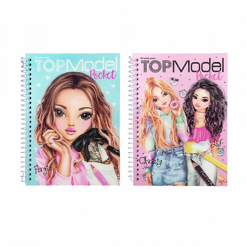 TOPModel Album à colorier de poche 3D