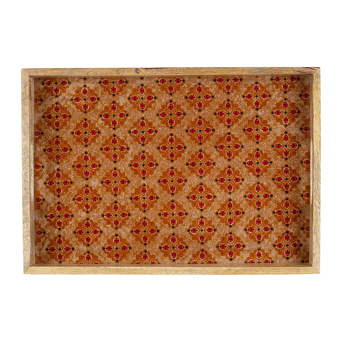 Plateau rectangle SURO Orange 43x30cm