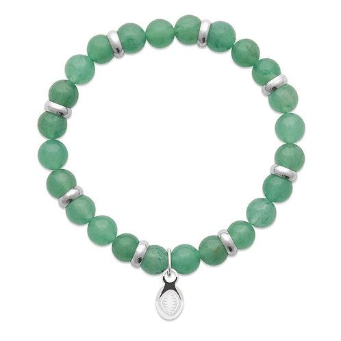 Bracelet Homme - Quartz Vert