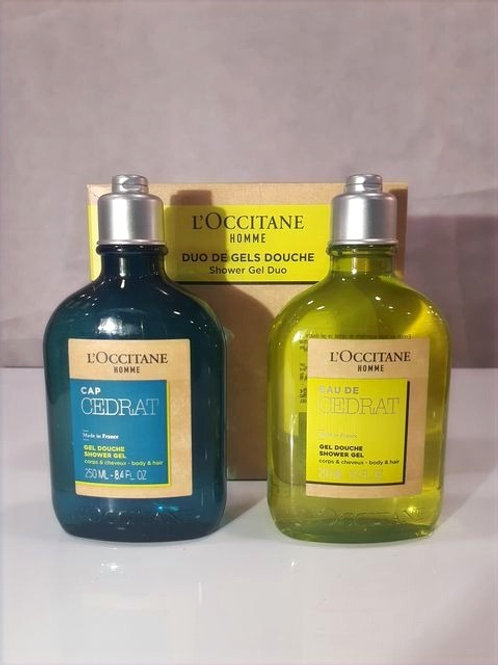 Duo Gels Douches - HOMME - L'Occitane