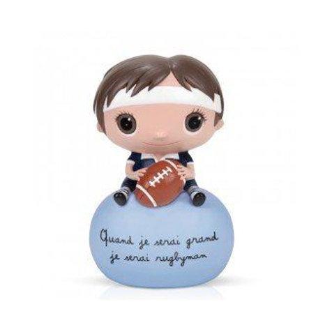 Tirelire - Rugby - Quand je serai grand
