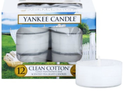 Bougies chauffe-plats Clean Cotton - Yankee Candle