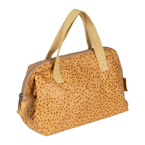 Sac Lunch Isotherme Poule Vintage Rouge
