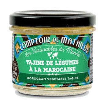 Tartinable Tajine de légumes à la Marocaine - Le Comptoir de Mathilde