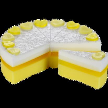 Savon Gâteau Fait Main aux huiles essentielles - Lemon Meringue