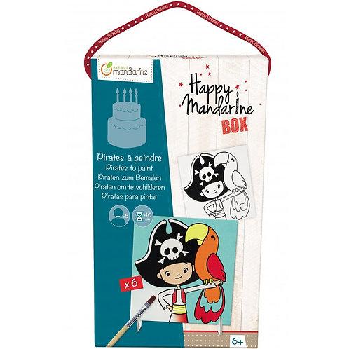 Pirate à peindre - HAPPY MANDARINE BOX
