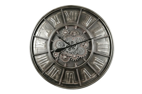 Horloge Engrenage Industrielle D.81cmle