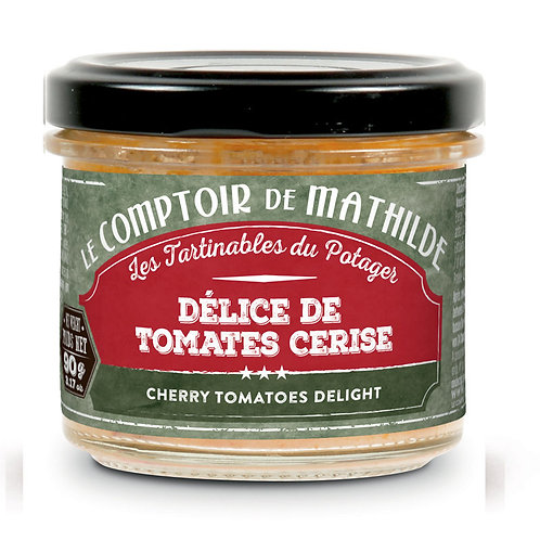 Tartinable - Délice de tomates cerise