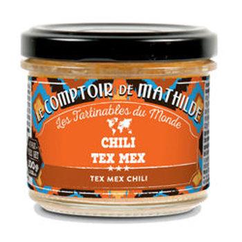 Tartinable Chili Tex Mex - Le Comptoir de Mathilde
