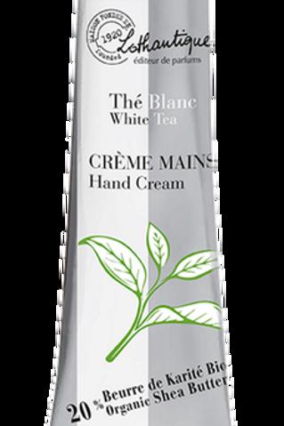 THE BLANC - Crème mains 30 ml - Lothantique