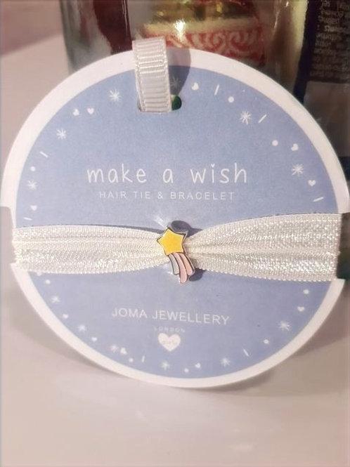 Bracelet / Elastique Enfant - Make a Wish