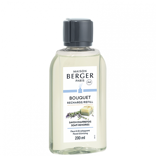 Savon d'Autrefois - Recharge Bouquet Parfumée Maison Berger 200 ml