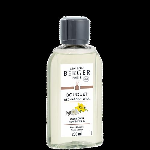 Soleil Divin - Recharge Bouquet Parfumée Maison Berger 200 ml