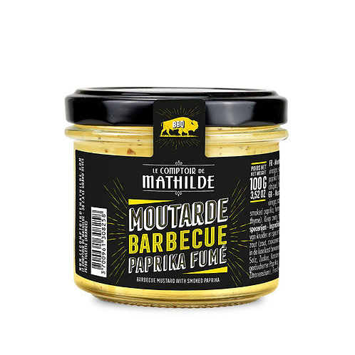 Moutarde Barbecue Paprika fumé