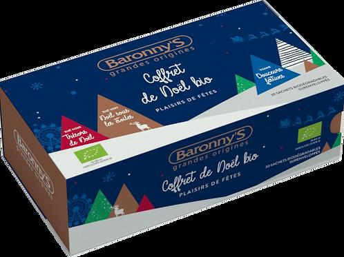 Coffret Thés de Noël BIO - 30 Sachets