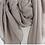 Thumbnail: Echarpe uni paillette - taupe