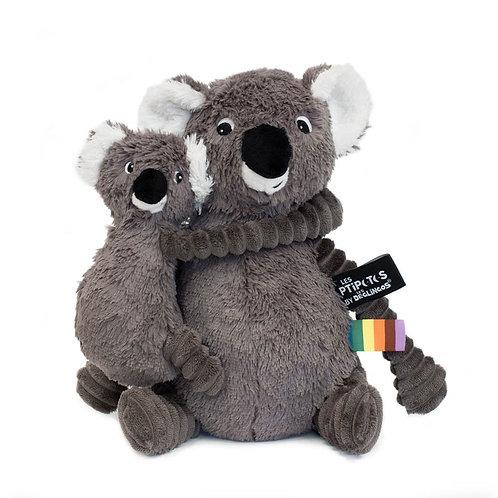 Peluche Ptipotos le koala gris - Les Déglingos