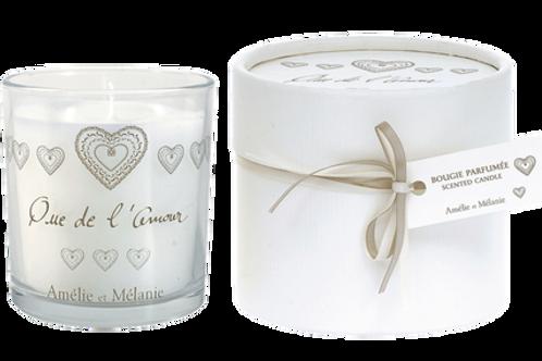 QUE DE L'AMOUR - Bougie parfumée 140g - Amélie et Mélanie - Lothantiquetique