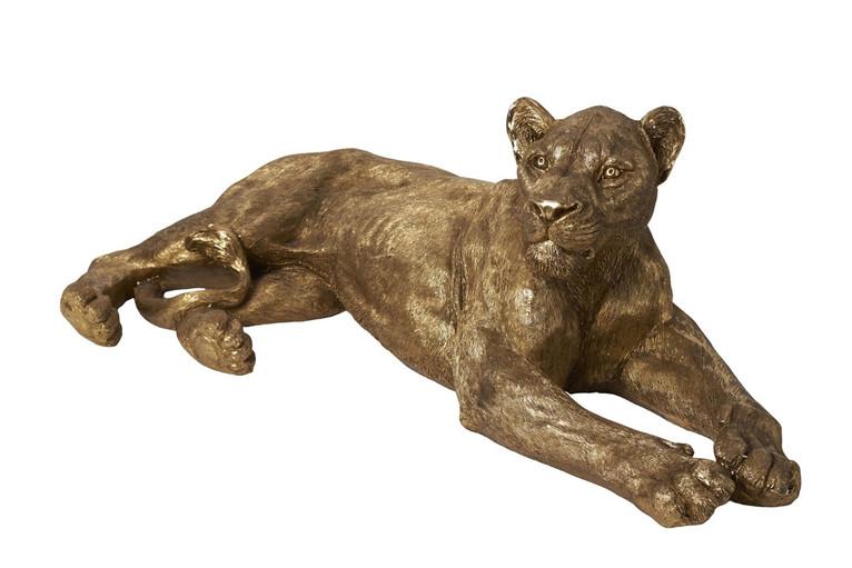 Sculpture Lionne 113 x 58